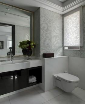 新古典风格家装卫生间效果图