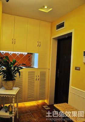 现代室内玄关装潢效果图