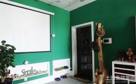混搭风格家居进门玄关装修图