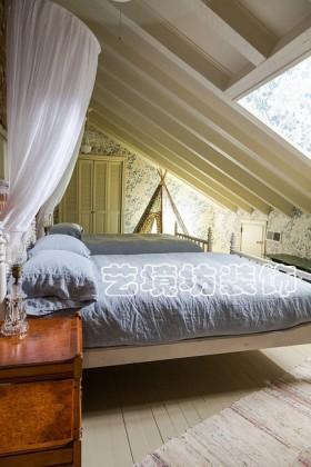 法式乡村风格两室两厅卧室设计效果图