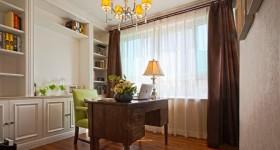 现代混搭风格三室两厅书房装修效果图