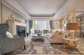 新古典风格两室两厅家庭客厅装修
