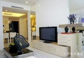 简约100平米两室两厅小客厅电视柜