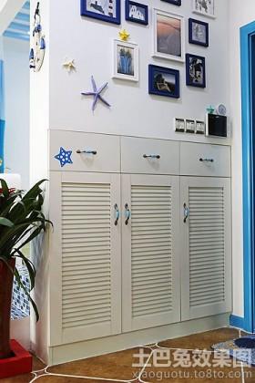 地中海风格进门玄关装饰效果图片