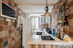 东南亚风格两室两厅厨房设计效果图