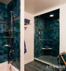 卫生间隔断墙装修效果图欣赏大全