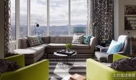混搭风格三室两厅休闲区设计效果图