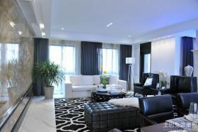 现代新古典风格四室两厅客厅装修效果图大全