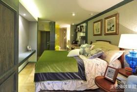 混搭风格三室两厅卧室装修效果图