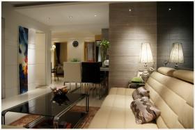 现代家装风格客厅灯具图片欣赏