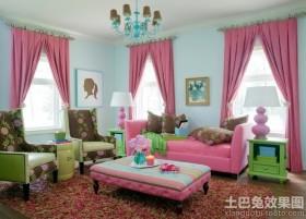 创意别墅客厅装修效果图大全2014