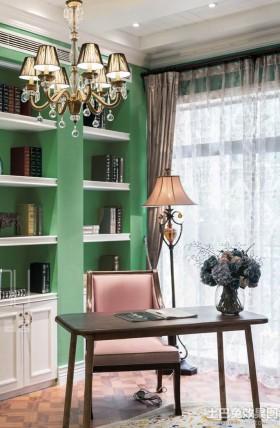 混搭风格小书房设计效果图