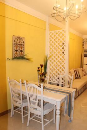 东南亚风格两室一厅装修餐厅效果图