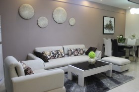 客厅沙发茶几组合效果图