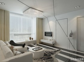 现代家装室内隐形门效果图欣赏大全2014图片