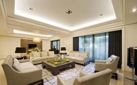 后现代风格110平米二居客厅装修效果图