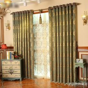 古典风格布艺窗帘效果图