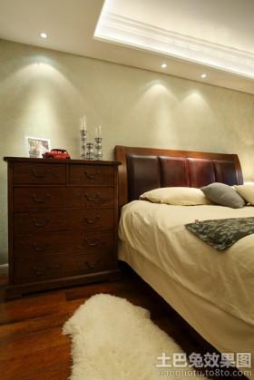 美式风格简装卧室效果图图片