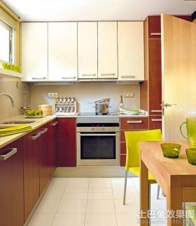 日式风格家装厨房装修效果图