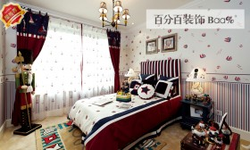 地中海风格两室两厅卧室装修效果图欣赏大全