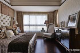 新古典时尚风格卧室装修效果图欣赏大全2014图片