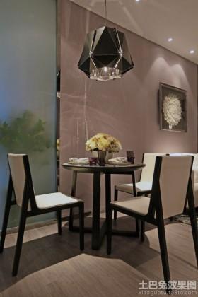现代新古典风格小餐厅设计效果图