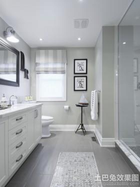 卫生间设计效果图片欣赏大全
