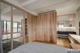 韩式简约大卧室装修效果图