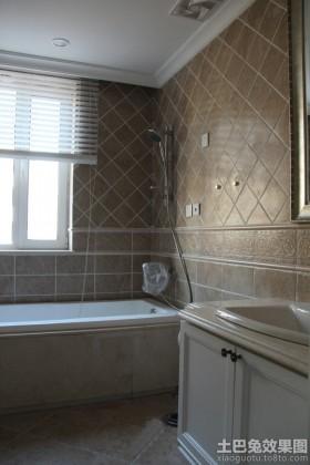 古典欧式卫生间装修
