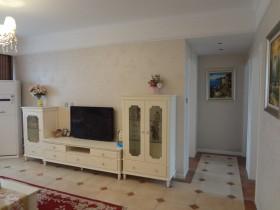 欧式田园风格两室一厅电视背景墙装修效果图大全
