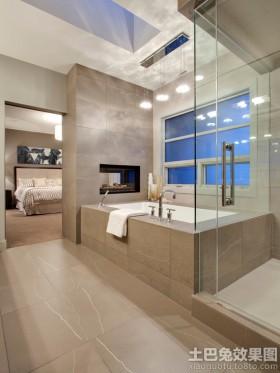 豪华别墅卫生间设计效果图大全欣赏