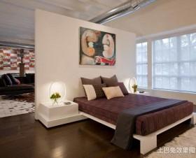 豪华时尚卧室隔断设计图片