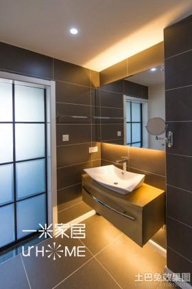 家用卫生间洗手台装修图片