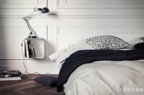 极简主义卧室床头壁灯图片