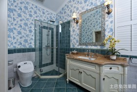 美欧风格四室两厅卫生间装修效果图