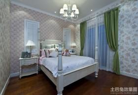 简约美式风格卧室装修图片大全