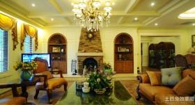 豪华美式风格客厅设计