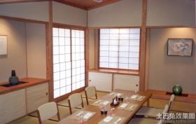 日式餐桌榻榻米装修图片
