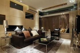 新古典风格家装客厅沙发背景墙图片