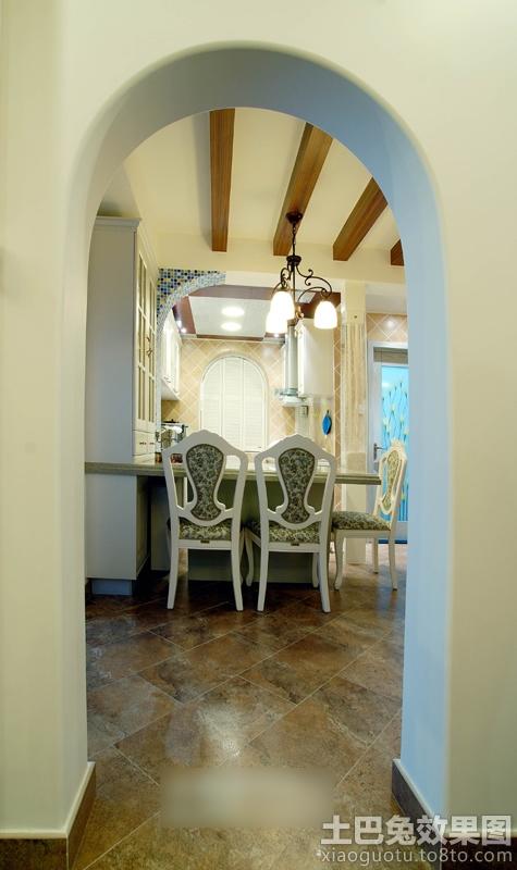 餐厅欧式门洞造型图片