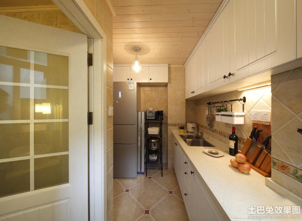 家庭欧式小厨房装修效果图