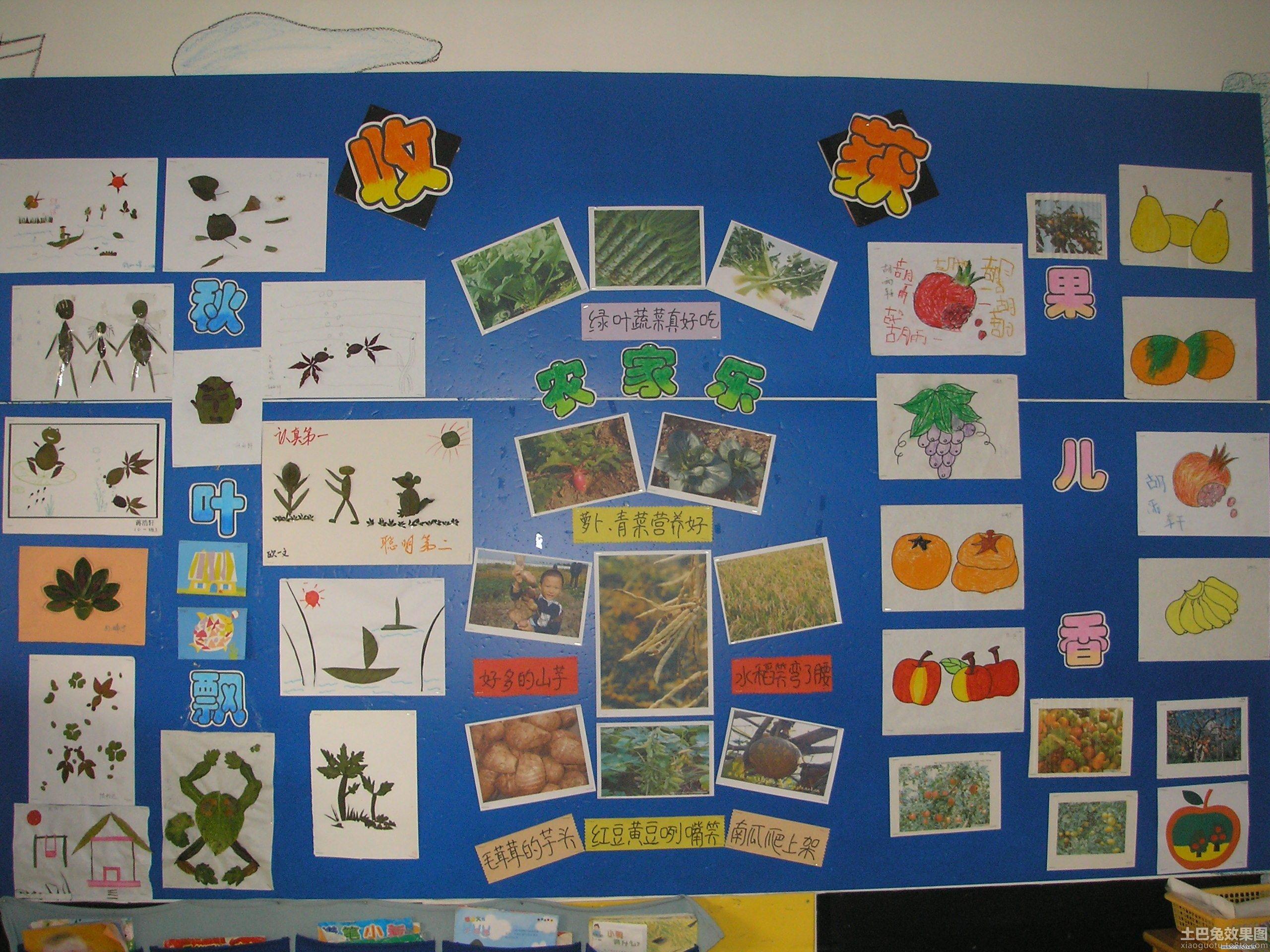 幼儿园照片墙设计图片