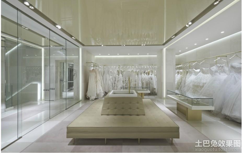 婚纱店装修效果图欣赏高清图片