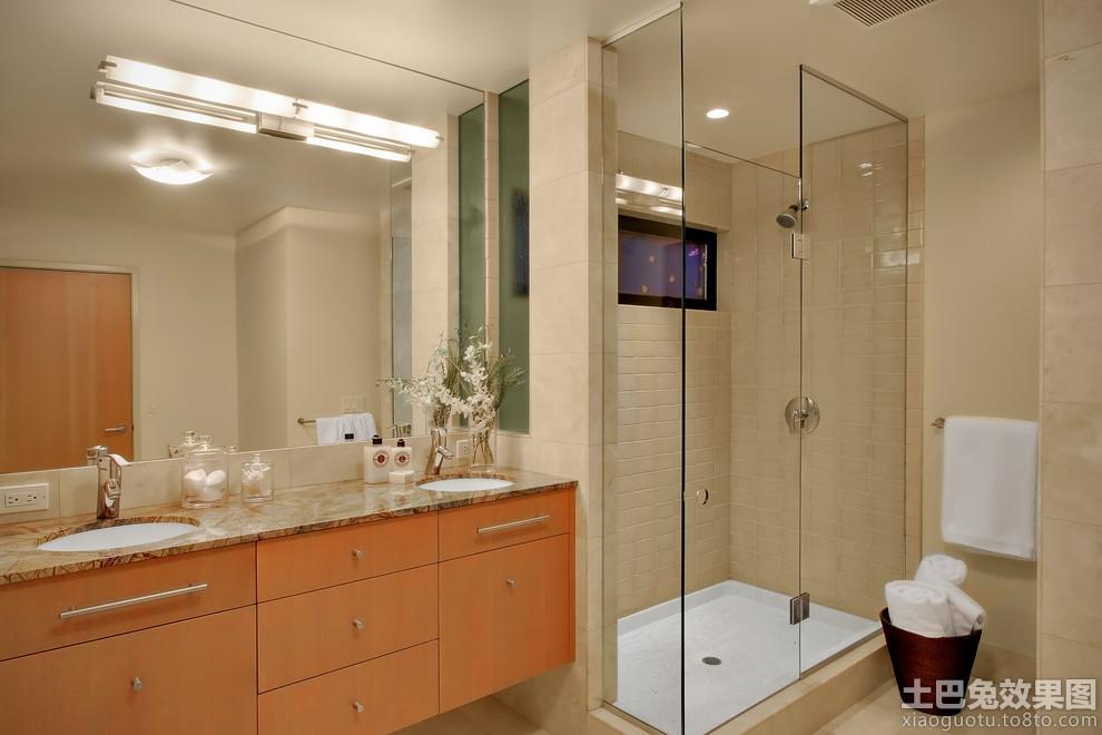 卫生间淋浴装修效果图