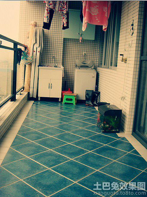 阳台瓷砖装修效果图