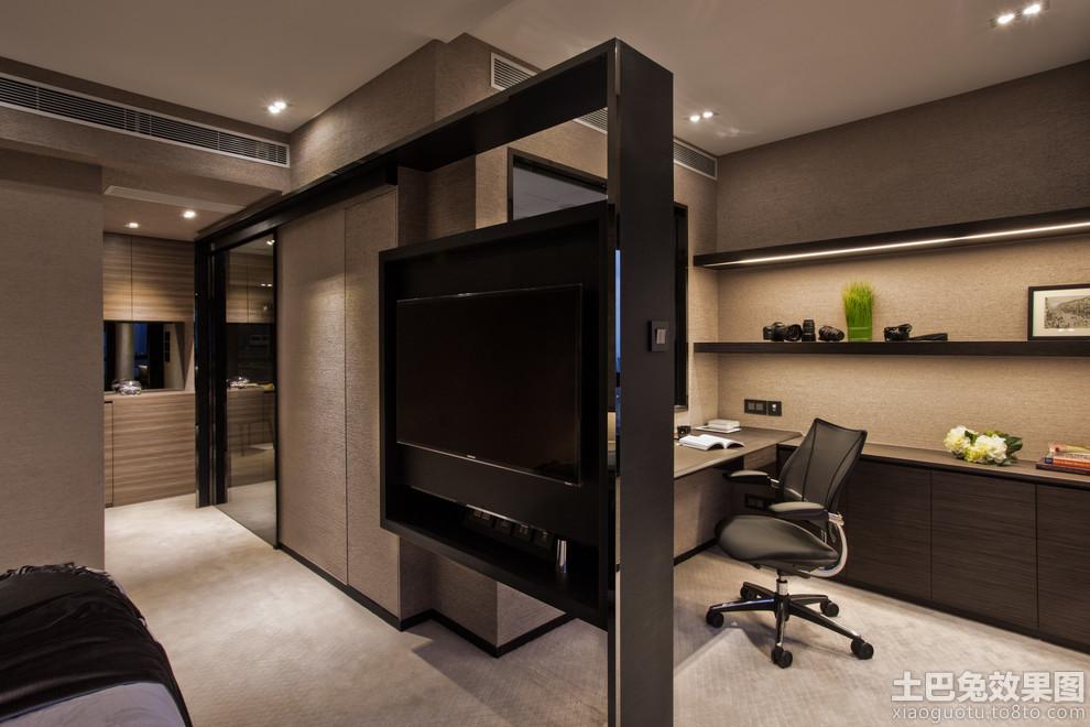 现代风格电视墙设计隔断效果图 - 装修效果图 - 九正图片