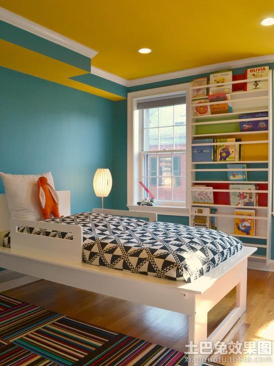 墙上简易书架设计图片