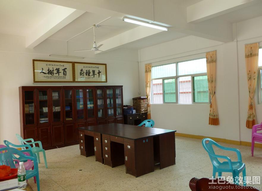 简单学校办公室设计图片