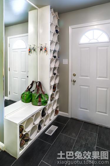 入户玄关创意鞋柜装修效果图高清图片