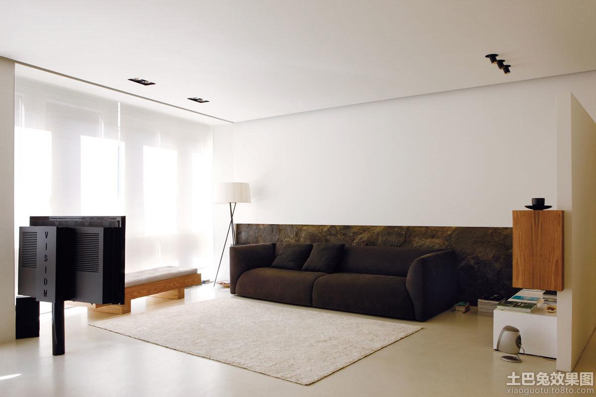 现代简约简单客厅装修效果图
